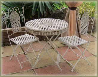 Lovely Garden Furniture Cast And wrought iron patio bistro set Eisen Gartenm belTerrasseng rtenSchmiedeeisenGusseisenK steGarden