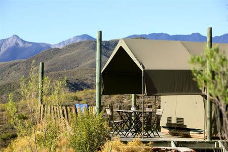 Check out this awesome listing on Airbnb: Le Petit Karoo Ranch - Luxury tents in Oudtshoorn