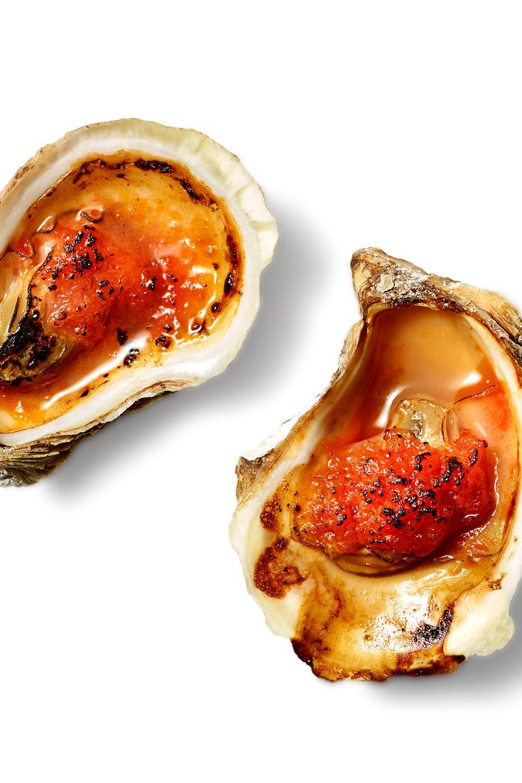 These oysters are a good way to start a festive meal One reason is that oysters seem to have built-in festivity — even when they were abundant to the point of local glut, they were eaten happily in bars that served only them, festively The part of this recipe that requires any skill or focus is the shucking