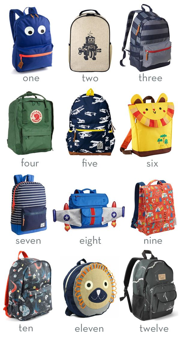 1000  ideas about Kids Backpacks on Pinterest | Toddler Backpack ...