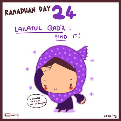 "day 24 ""find it Lailatul qadr"""