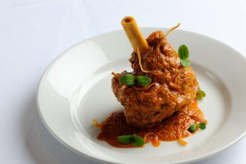 Slow Cooked Hyderabadi Lamb Shank - Great British Chefs