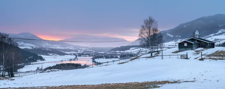 Sør-Fron Sunset Pano by Sigurd Rage on 500px