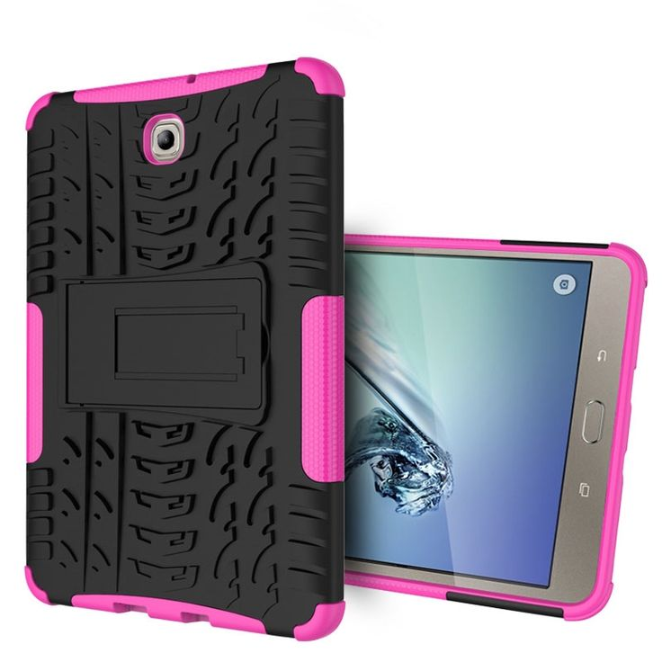 "17.13$  Watch here - http://aliz2z.shopchina.info/go.php?t=32795891570 - ""Heavy Duty Armor Tire Style TPU PC Hard Cover Case for Samsung GALAXY Tab S2 T710 8.0"""" tablet Skin Robot Cover Case"" 17.13$ #buyonline"