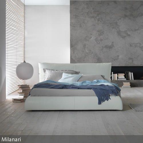 Modernes Schlafzimmer Mit Lederbett
