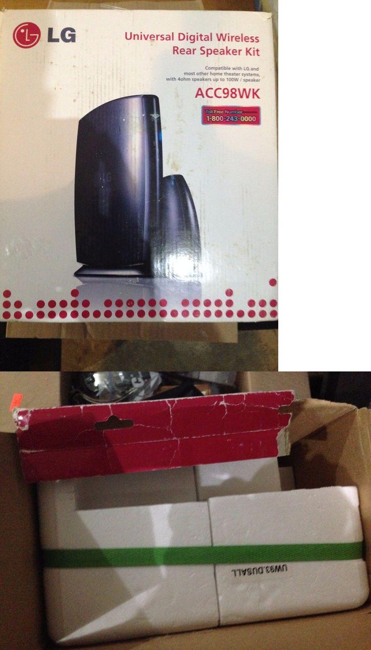 Audio Video Transmitters: Lg Acc98wk Universal Digital Wireless Rear Speaker Kit -> BUY IT NOW ONLY: $49.99 on eBay!
