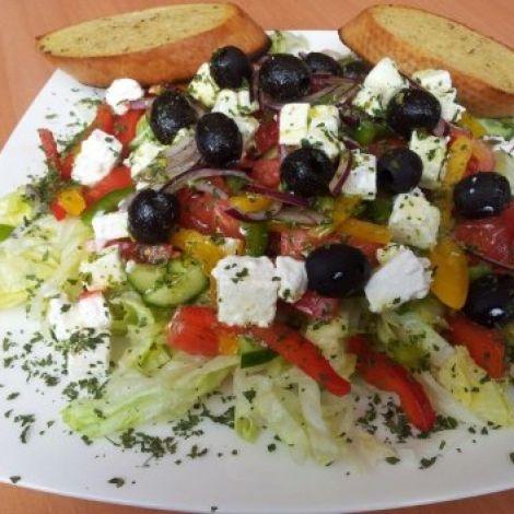 Griechischer Salat Rezept    #kochen #rezepte #kochrezepte