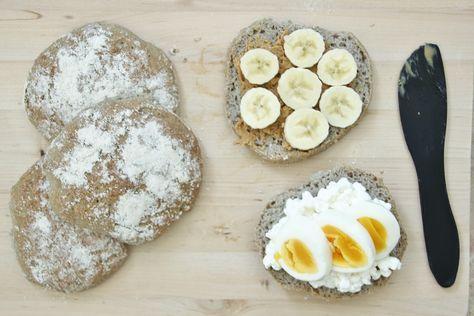 Glutenfria bovete- och quinoatekakor