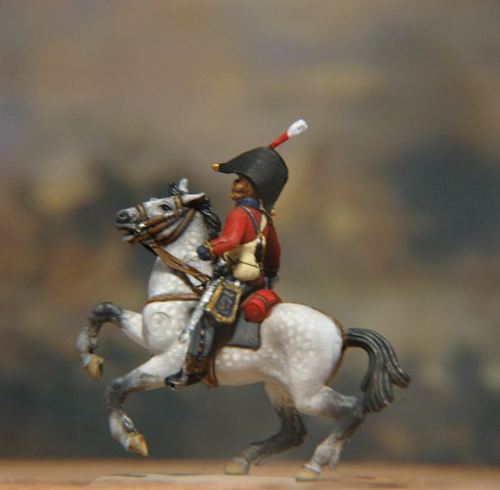 British Scots Greys Officer Conversion from Esci and Italeri