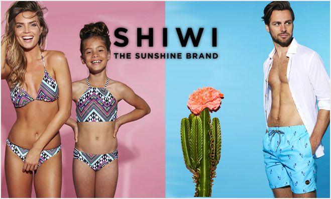 NIEUW BINNEN: SHIWI SWIMWEAR!  De zwemkleding kwam nog net niet uit de kast geslopen maar wat een heerlijk weer is het al geweest en gaat het weer worden. De voorspelling is dat het kwik weer boven de 15 graden uit gaat komen.  We hebben daarom maar snel de stoere nieuwe collectie Shiwi zwembroeken voor heren en voor jongens en bikini's voor dames en voor meisjes online gezet voor de aanstaande zonnestralen.  #shiwi #zwemkleding #bikini #swimwear #zwembroek #swimshort #beach #strand #zon