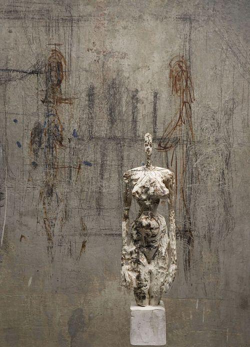 texturism:    alberto giacometti   viaikachan:nouvelle-nouveau    (via workman)