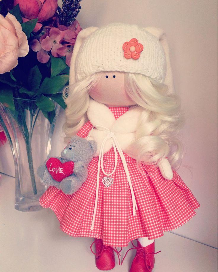 Купить Кукла милая Зайка - кукла ручной работы, кукла, кукла в подарок, кукла интерьерная