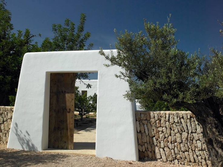 BLAKSTAD Projects. This port refers to the old entrance of Ibiza Airport #ibizahomes #blakstadibiza
