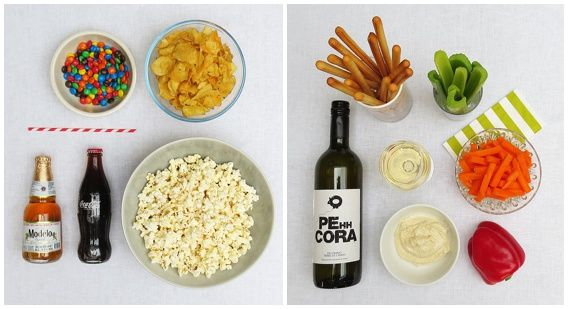 indulgent and healthy snacks for gamenight. ONLYELLA.COM