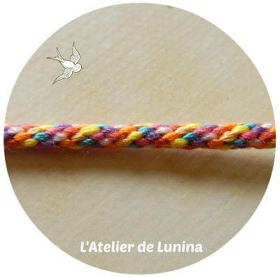 Kumihimo bracelet : Tuto