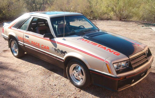 1979 Mustang Indy Pace Car