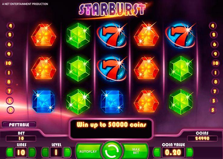 Legendaarinen #NetEnt kolikkopeli Starbust voittaa yhä enemmän faneja casino maailmalla. Kokeile ja ymmärät miksi...