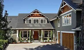 craftsman house plans - I like L shaped houses