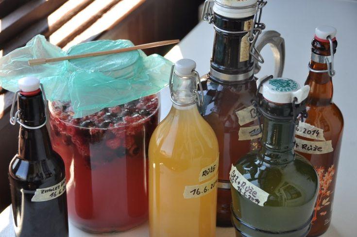 Fermentované nápoje