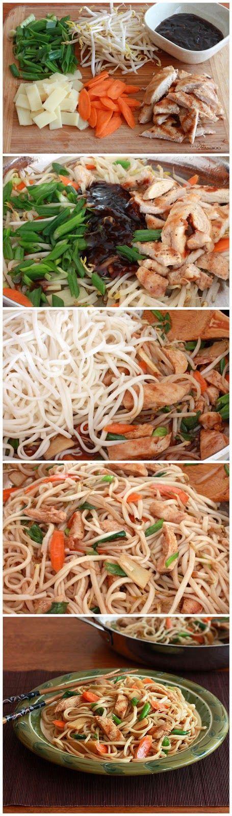 Chicken Teriyaki Noodles