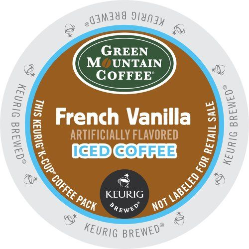 Keurig, Green Mountain Coffee, French Vanilla Iced Coffee, K-Cup packs, 72 Count - http://thecoffeepod.biz/keurig-green-mountain-coffee-french-vanilla-iced-coffee-k-cup-packs-72-count/