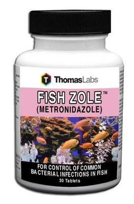 Fish Zole (Metronidazole, 250 mg) Tablets | Everything