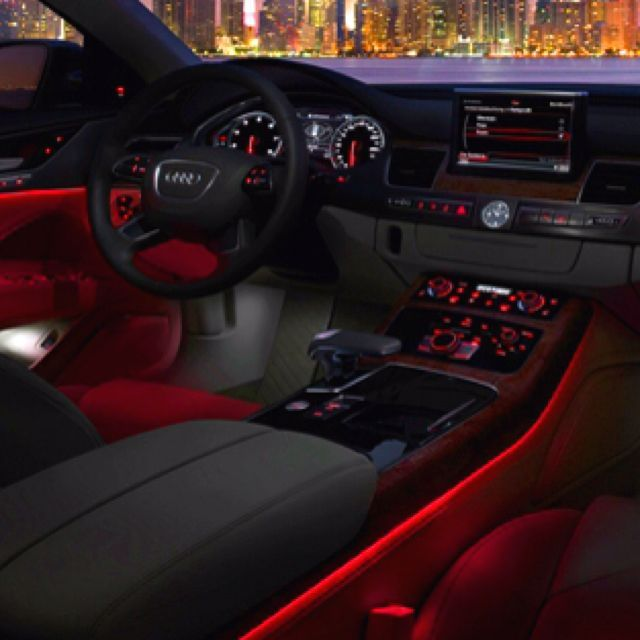 34 Awesome Interior Lights For A Modern Car In 2020 Audi Interior Luxury Car Interior Dream Cars
