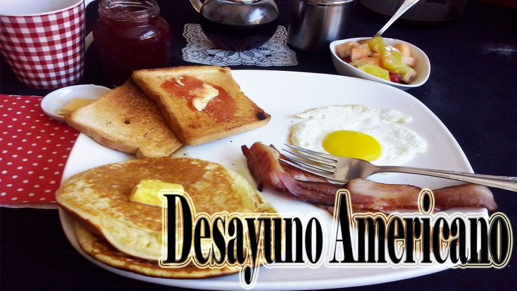 Desayuno Americano + Las MEJORES Pancakes Del MUNDO