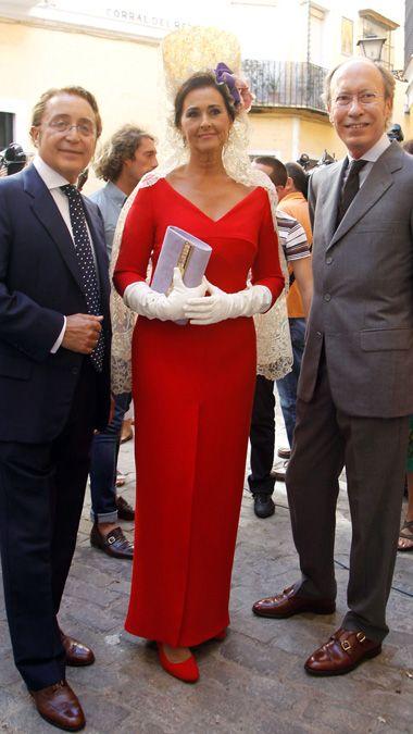 Descripción del vestido de Carmen Tello, madrina de la boda de la duquesa
