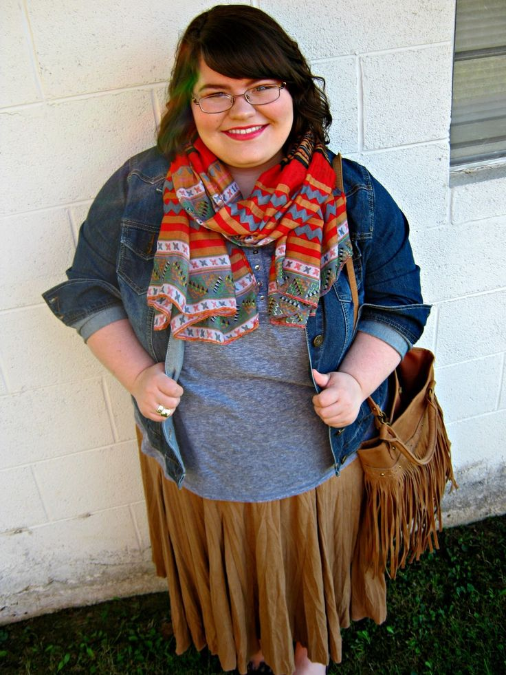 Unique Geek: Plus Size OOTD: Fringe For Fall #plussizefashion #plussize #plussizeoutfit #plussizeootd #modestoutfit #churchoutfit #falloutfit #plussizemodestoutfi: