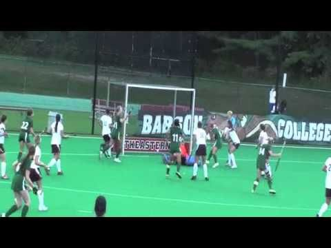 Babson Field Hockey vs. Springfield (9/28/13)
