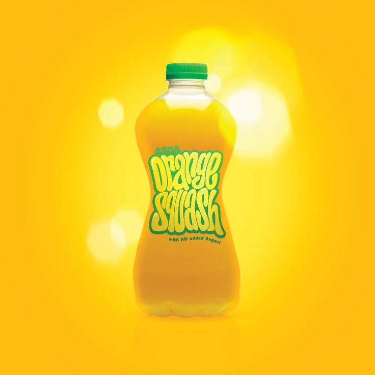 Squash. Packaging. Fruit juice. Typography. hand drawn lettering. Orange. Designed by White is Black.