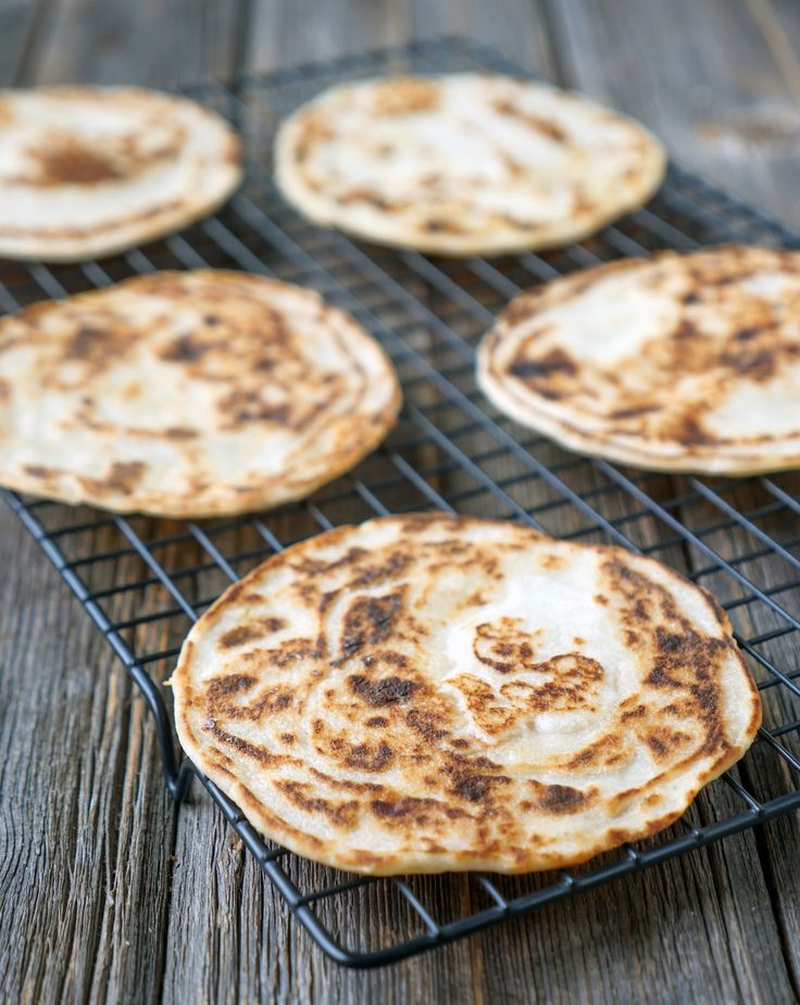 This coconut flour naan is made with 3-ingredients. It's gluten-free, dairy-free and grain-free.