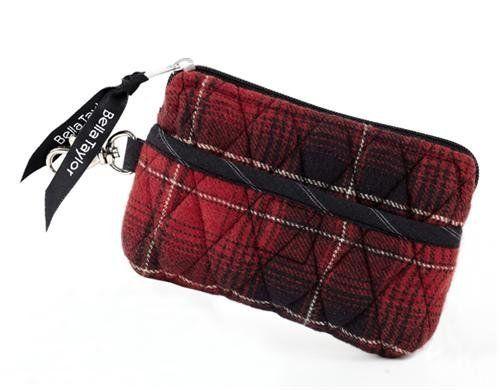 Bella Taylor Lexington Quilted Cotton Gadget Pouch Victorian Heart Co., Inc.. $10.95