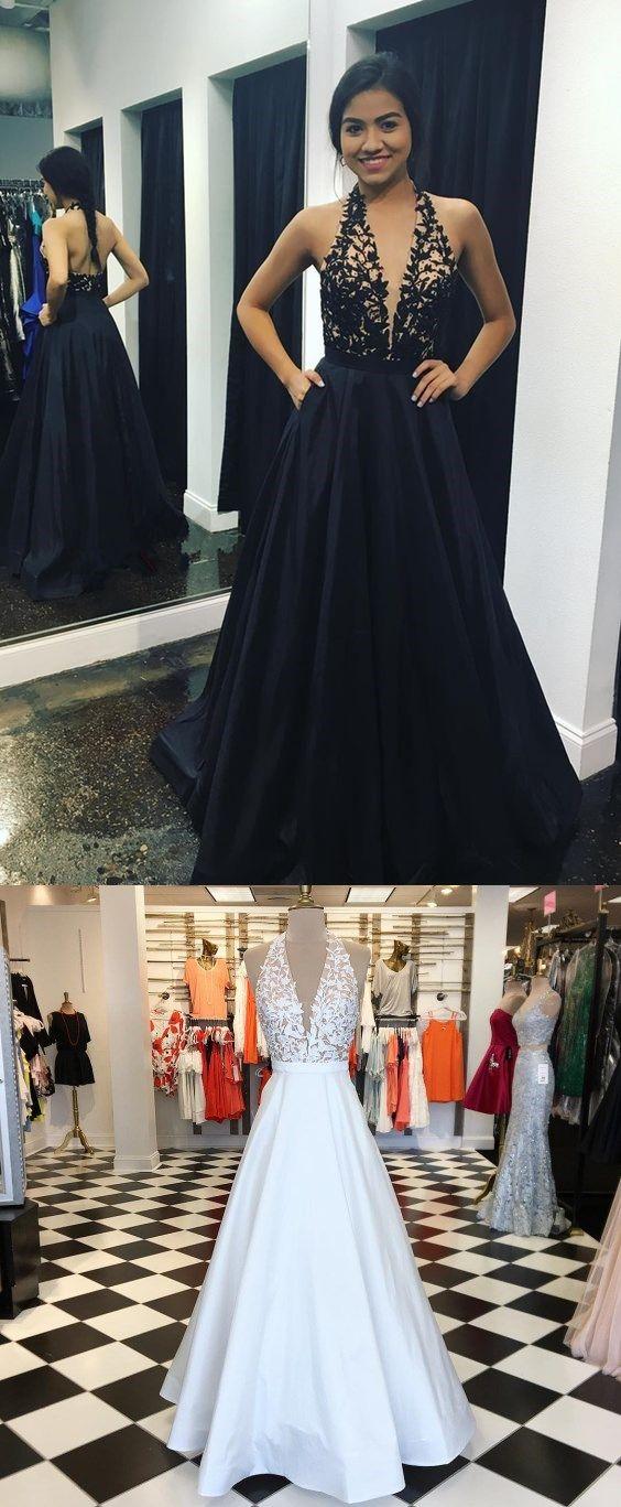 A-line Simple Lace Appliques Prom Dresses, Elegant Formal Affordable Evening Dress, PD0317
