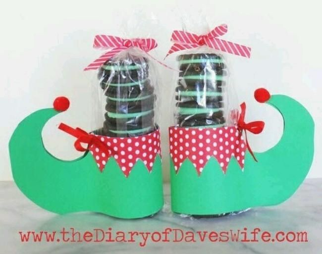 Oreo Elf Feet {free pattern}