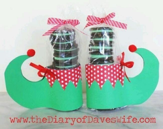 Oreo Elf Feet {free pattern}