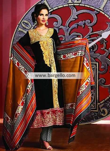 Embroidered Chiffon Angrakha Style Dress for Office Wear Newcastle London UK Tawakkal Fabrics Pearl WL6974 Party Wear  UK USA Canada Australia Saudi Arabaia Japan Bahrain Kuwait Norway Sweden New Zealand Heavy Embroidered Pishwas in Chiffon for all Formal Events Product code: WL6974 Original Price: $210.95 Our Price: $190.95 You save: $20.00 (9%)