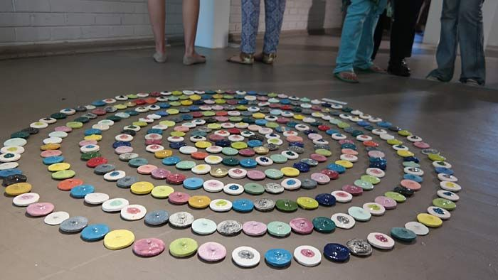 Installation by Michelle Le Grange | TUT Fine and Applied Arts Annual Degree Exhibition 2015