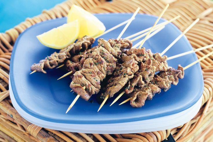 Lamb And Rosemary Skewers Recipe - Taste.com.au