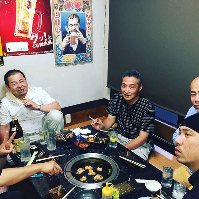 街を背負う経営者の会に参加してます☆ #頼母子#益田市#肉○#花柳園#あんで#魚一#だいこく