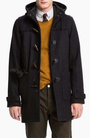 Topman Duffle Coat available at #Nordstrom