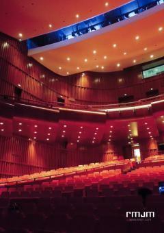 Inside the Zhuhai Shizimen Business Cluster & Convention Centre  | RMJM