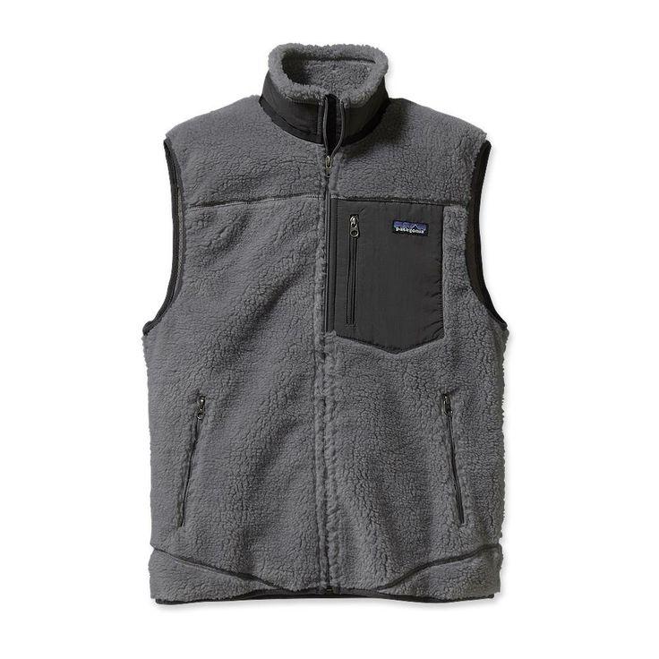 Patagonia Men's Classic Retro-X Fleece Vest.  $149.00