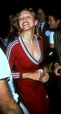 Madonna's Adidas dress from the early 90's :-)