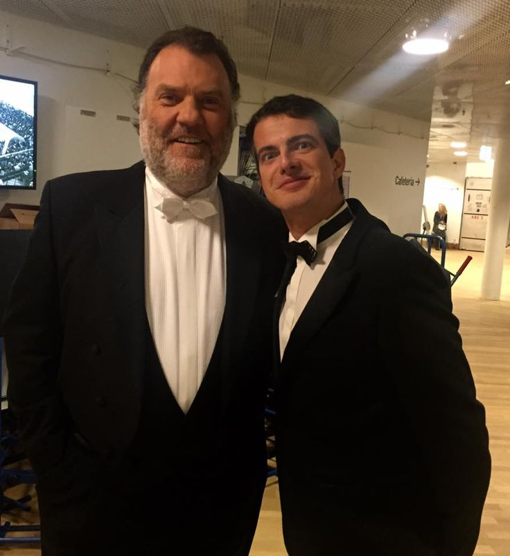 Sir Bryn Terfel and Philippe Jaroussky, at the Inauguration of the Elbphilharmonie Hamburg, Jan 2017