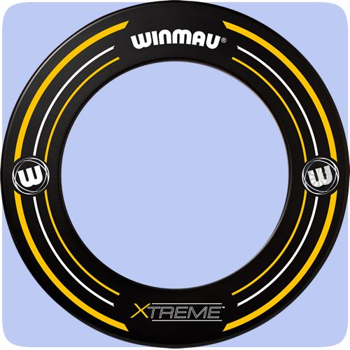 Winmau Xtreme 2 Dartboard Surround - Professional - Heavy Duty - Black - Xtreme 2 - http://www.dartscorner.co.uk/product_info.php?products_id=19494