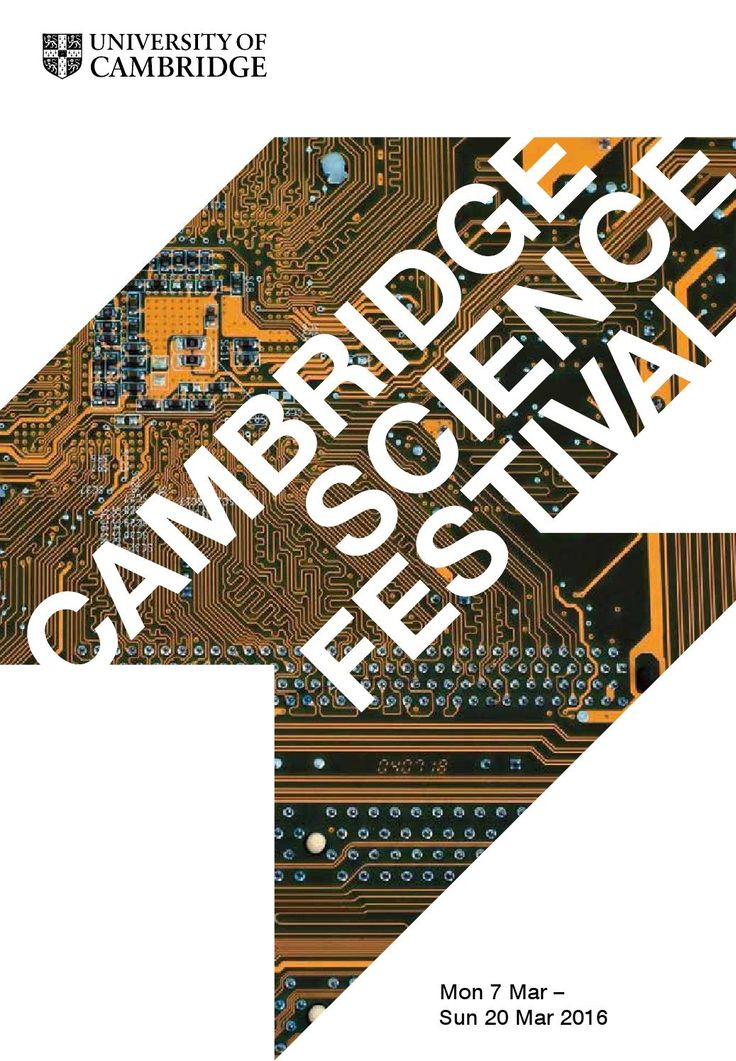 Cambridge Science Festival 2016 programme