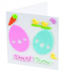 Happy Easter Cards Craft Activity