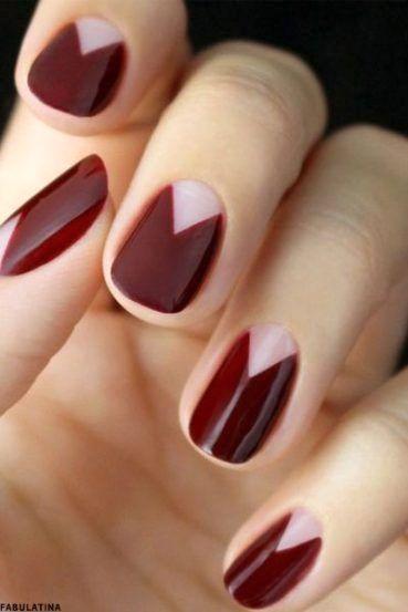 check out 17 unique maroon hair color ideas for short hair burgundycolors com di 2020 manikur kuku kuku jari kaki pinterest